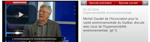 Hypersensibilité Environnementale – ADR.TV